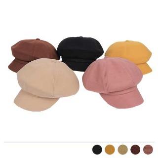CAP19023 국산 파스텔 컬러 팔각모 빵모자