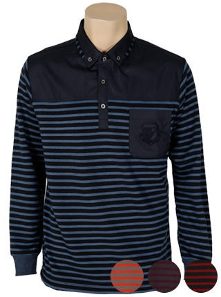 ATS-013 숄더배색 골프 카라 티셔츠